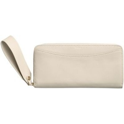 Skagen SWS0132117 ladies hanne zip wallet, Oatmeal Marl