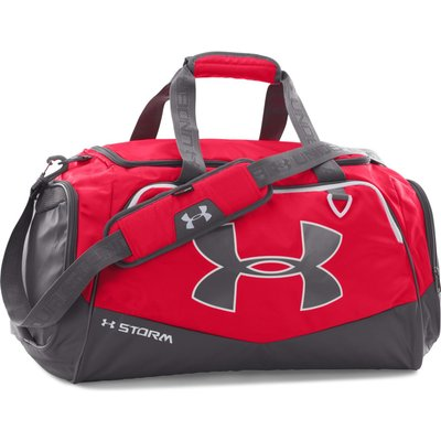 Under Armour Undeniable Synthetic Holdall, Red