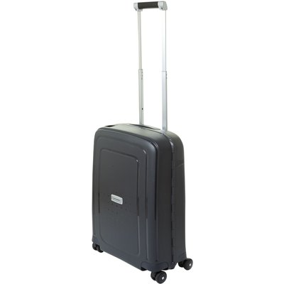 Samsonite S-Cure deluxe black cabin suitcase, Black