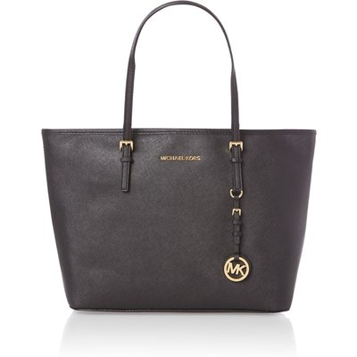 Michael Kors Jetset travel medium black tote bag, Black
