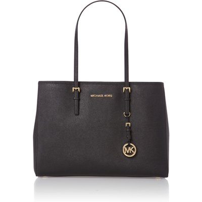 Michael Kors Jet set travel medium black tote bag, Black