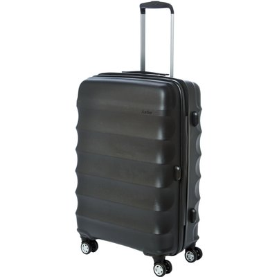 Antler Juno medium black roller suitcase, Black