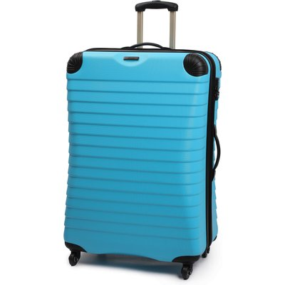 Linea Shell aqua 4 wheel hard large case, Aqua