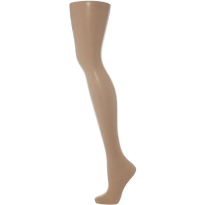 Pretty Polly 8 denier sandal toe tights, Barely There