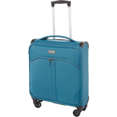 Antler Aire teal 4 wheel cabin suitcase, Teal