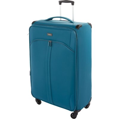 Antler Aire teal 4 wheel large suitcase, Teal