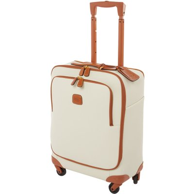 Brics Firenze 4 wheel cabin suitcase, Cream