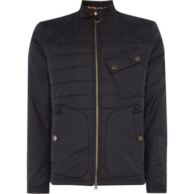 Men's Barbour International Lee Quilt Jacket, Black