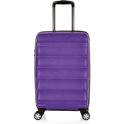 Antler Juno purple 4 wheel cabin suitcase, Purple