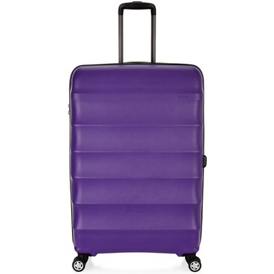 Antler Juno purple 4 wheel large suitcase, Purple