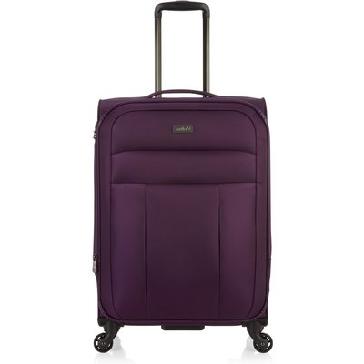 Antler Marcus aubergine 4 wheel medium suitcase, Aubergine