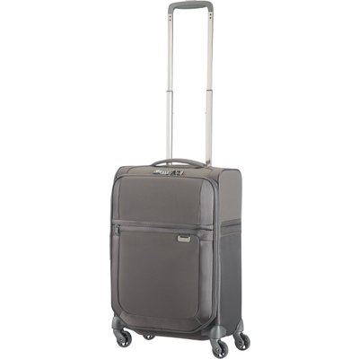 Samsonite Uplite grey 4 wheel 55cm cabin suitcase, Grey