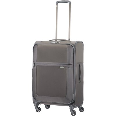 Samsonite Uplite grey 4 wheel 67cm medium suitcase, Grey