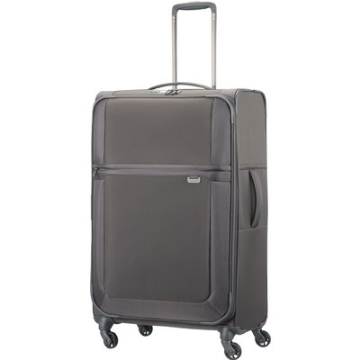 Samsonite Uplite grey 4 wheel 78cm large suitcase, Grey