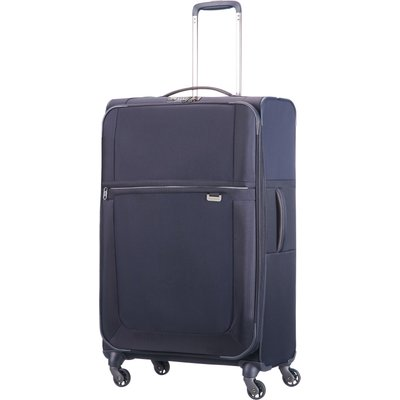 Samsonite Uplite navy 4 wheel 78cm large suitcase, Blue