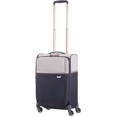 Samsonite Uplite pearl & navy 4 wheel 55cm cabin suitcase, Multi-Coloured