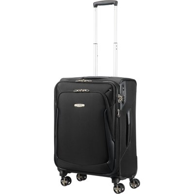 Samsonite X-Blade 3.0 black 8 wheel 63cm medium suitcase, Black