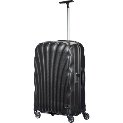 Samsonite Cosmolite 3.0 black 4 wheel 69cm medium suitcase, Black