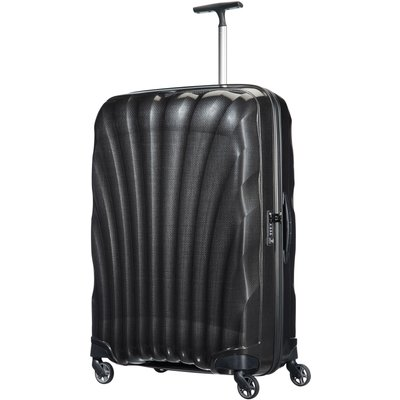 Samsonite Cosmolite 3.0 black 4 wheel 81cm large suitcase, Black