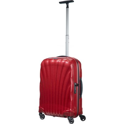 Samsonite Cosmolite 3.0 red 4 wheel 55cm cabin suitcase, Red