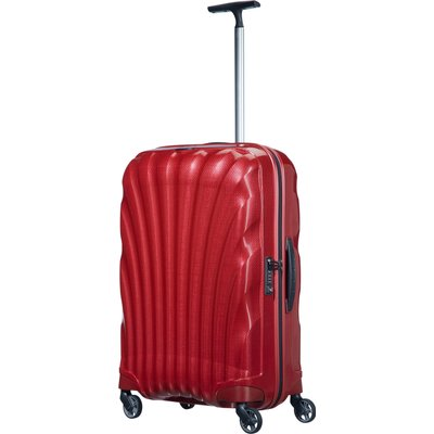 Samsonite Cosmolite 3.0 red 4 wheel 69cm medium suitcase, Red
