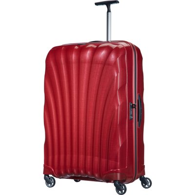 Samsonite Cosmolite 3.0 red 4 wheel 81cm large suitcase, Red