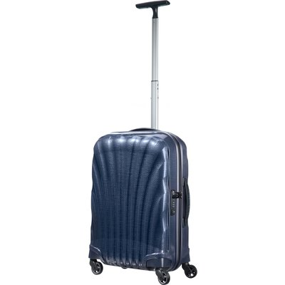 Samsonite Cosmolite 3.0 navy 4 wheel 55cm cabin suitcase, Blue