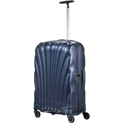 Samsonite Cosmolite 3.0 navy 4 wheel 69cm medium suitcase, Blue