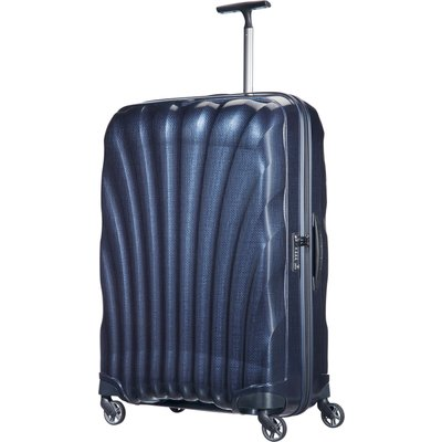 Samsonite Cosmolite 3.0 navy 4 wheel 81cm large suitcase, Blue