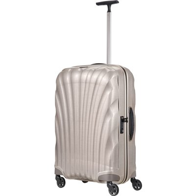 Samsonite Cosmolite 3.0 pearl 4 wheel 69cm medium suitcase, White