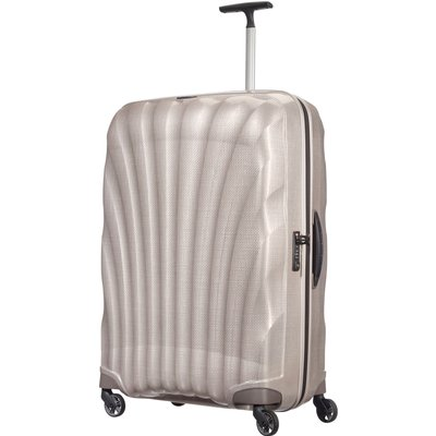 Samsonite Cosmolite 3.0 pearl 4 wheel 81cm large suitcase, White