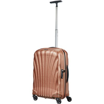 Samsonite Cosmolite 3.0 copper 4 wheel 55cm cabin suitcase, Red