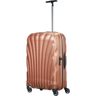 Samsonite Cosmolite 3.0 copper 4 wheel 69cm medium suitcase, Red