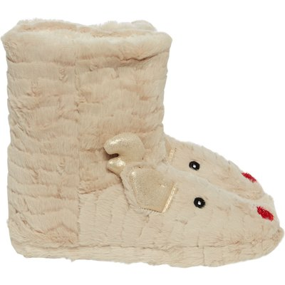 Therapy Rudolph Slipper Bootie, Oatmeal
