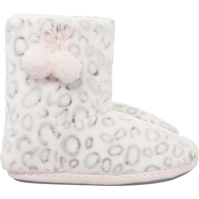 Therapy Leopard Slipper Bootie, Pink