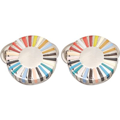 Paul Smith Multi Ray Cufflink, Multi-Coloured