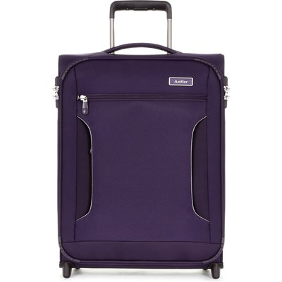 Antler Cyberlite II purple 2 wheel soft cabin suitcase, Purple