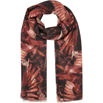 Label Lab Bird print scarf, Multi-Coloured