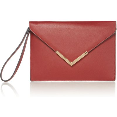 Linea Envelope pouch, Red