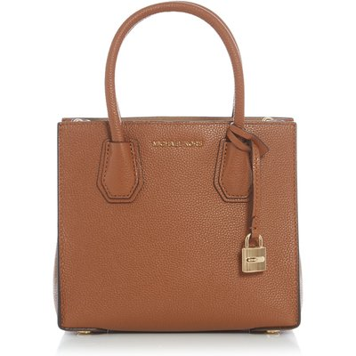 Michael Kors Mercer tan medium tote bag, Tan