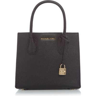Michael Kors Mercer black medium tote bag, Black