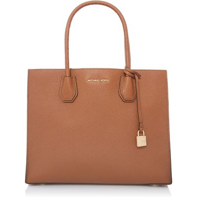 Michael Kors Mercer tan large tote bag, Tan