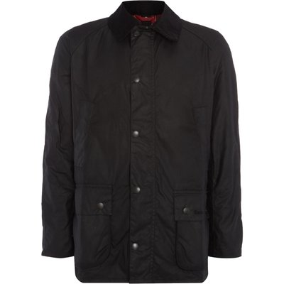 Men's Barbour Coloured ashby jacket, Jet Black