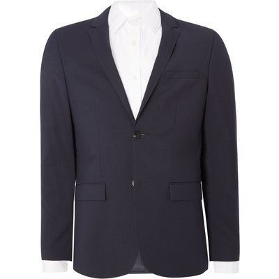 Men's Calvin Klein Talo-bm refined wool suiting jacket, Blue