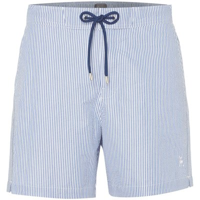 Men's Linea Seersucker Stripe Swim Short, Sky