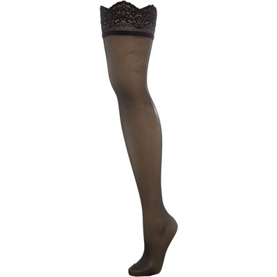 Wolford Lace Stay-Up, Black