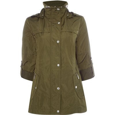 Weatherproof Anorak with hood, Green