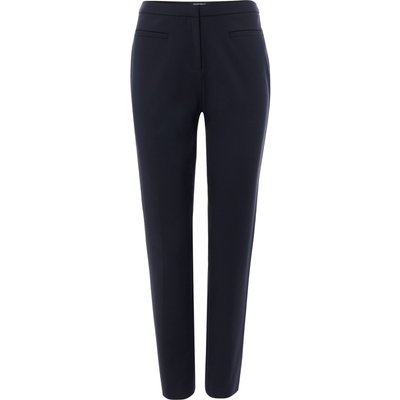 Ellen Tracy Slim fit trousers with welt pocket, Blue