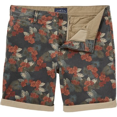 Men's Criminal Kansas Dark Tropical Short, Tropical