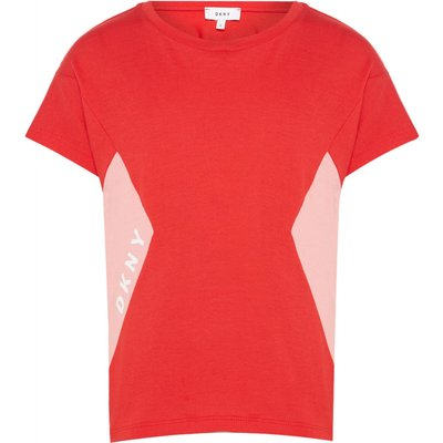DKNY Girls Loose Fit Dress, Red